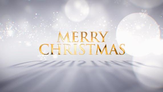 Vœux de Noël lumineux