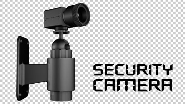 Thumbnail for Black Security Camera