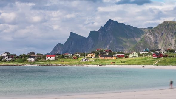 Thumbnail for Lofoten Archipelago Islands Beach