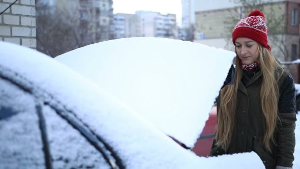 Thumbnail for Cleaning Car From Snow Every Morning