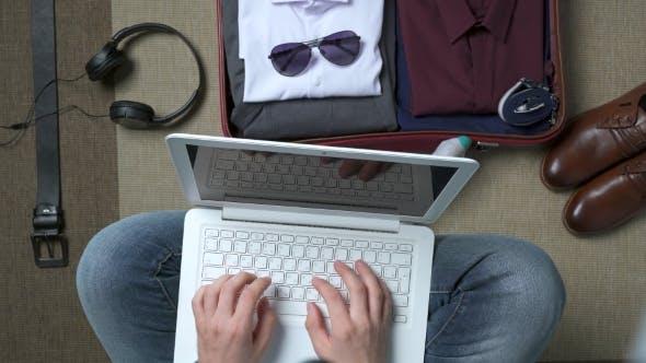 Thumbnail for Man Working on Laptop
