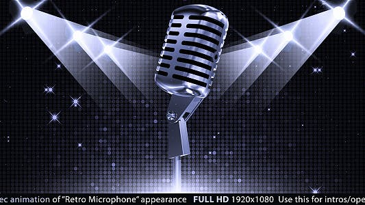 Thumbnail for Retro Microphone