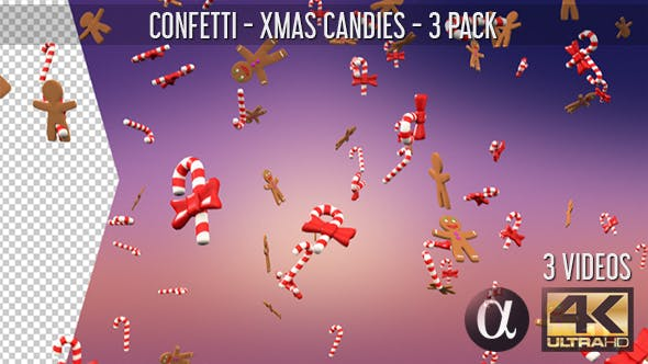 Thumbnail for Confetti - Xmas Candies - 3 Pack