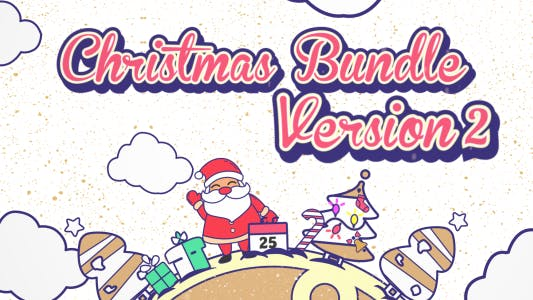 Thumbnail for Christmas Vector Bundle v2