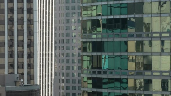 Thumbnail for View of Part of Skyscrapers, Mirror Rank of Windows