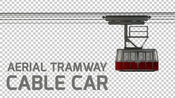 Thumbnail for 3D Aerial Tramway - Cable Car