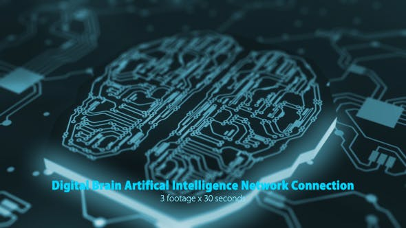 Thumbnail for Digital Brain Artificial Intelligence Network Connection Pack