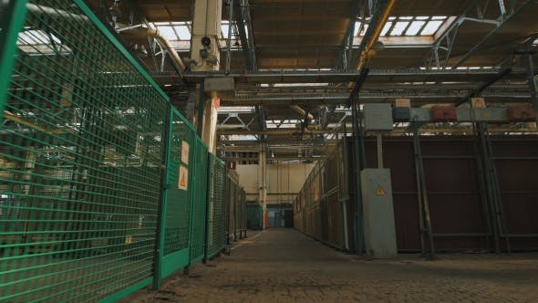 Thumbnail for Production Premise with a High Ceiling and a Large Number of Industrial Equipment Throughout the