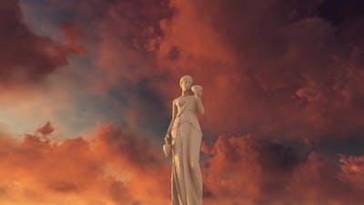 Greek Woman Statue