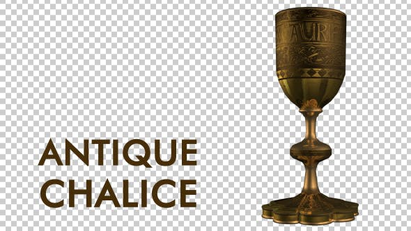 Thumbnail for Antique Gold Chalice