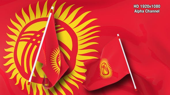 Thumbnail for Flag Transition - Kyrgyzstan
