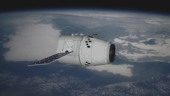 Thumbnail for Satellite over Earth