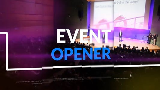 Thumbnail for Event Opener