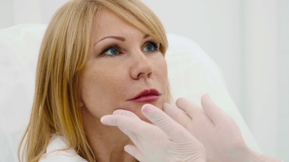 Thumbnail for Beautiful Old Woman in a Cosmetology Clinic
