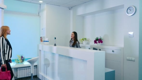Cover Image for Reception in Cosmetology Clinic