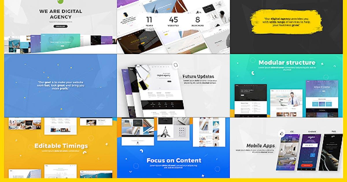 Download Digital Agency / Startup / Website Presentation by Nullifier