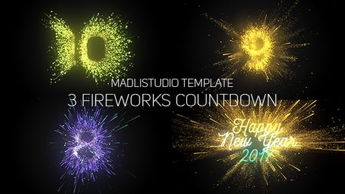 Fireworks Countdown
