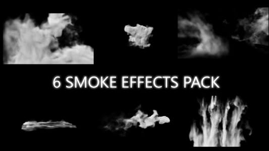 Thumbnail for 6 Smoke Effects Pack