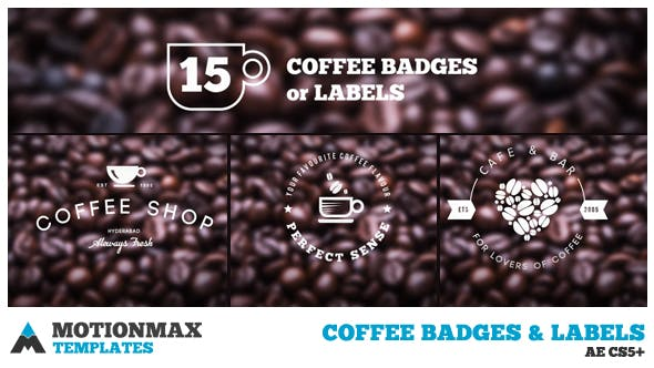 Coffee Badges and Labels