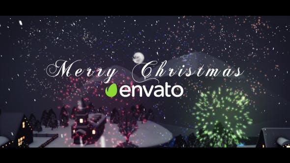 3D Christmas Intro