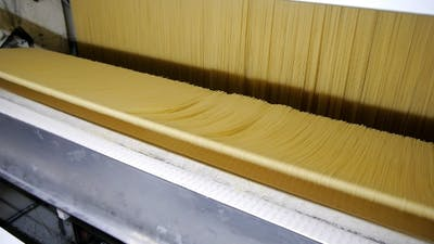 Production of Pasta on a Modern Production Line