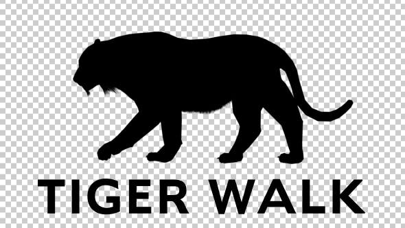 Tiger Silhouette Walk By Handrox G On Envato Elements See more ideas about tiger silhouette, drawings, animal drawings. tiger silhouette walk by handrox g on envato elements