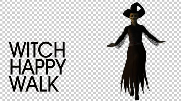 Thumbnail for Happy Witch Walking Loop