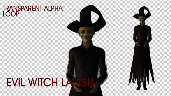 Thumbnail for Evil Witch Laugh - Loop