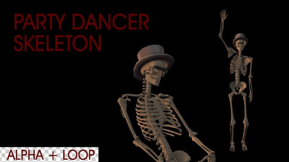Thumbnail for Party Dancer Skeleton