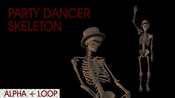 Party Dancer Skeleton