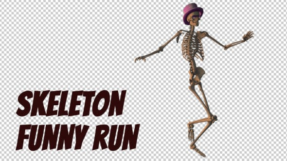 Thumbnail for Skeleton Funny Run