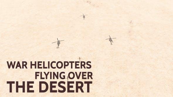 Thumbnail for War Helicopters - Desert