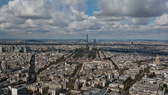 Thumbnail for Panoramic view of Paris, France