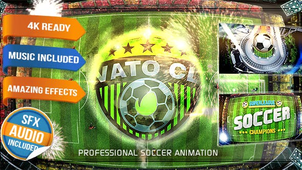 Thumbnail for Soccer Logo - Football Intro