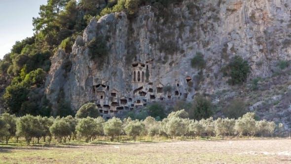 Thumbnail for Ancient Rock Tombs, Dalyan, Turkey.