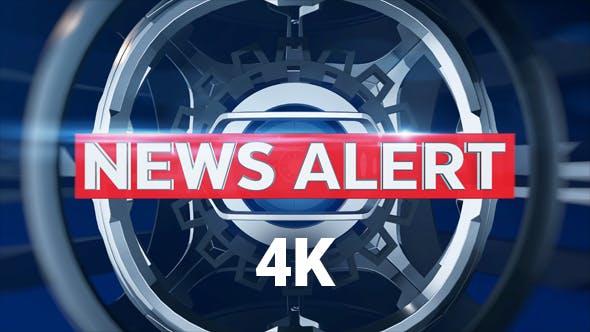 Thumbnail for News Alert 4K
