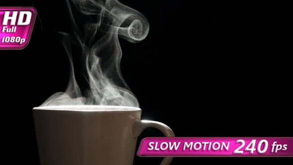 Thumbnail for Steam From a Mug With a Hot Drink