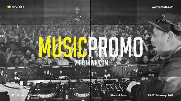 Music Event Promo / Party Invitation / EDM Festival / Night Club / DJ Performace