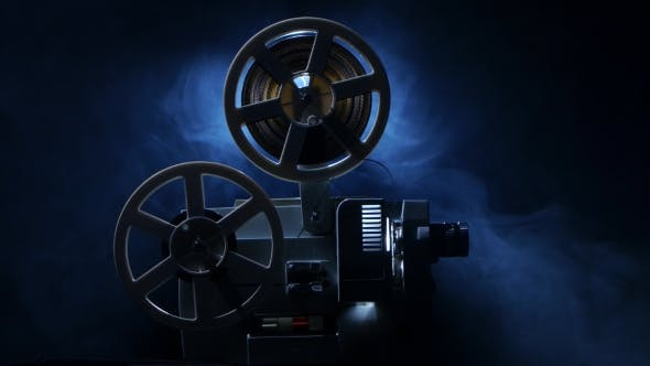 Thumbnail for Vintage Old 8 Mm Film Projector