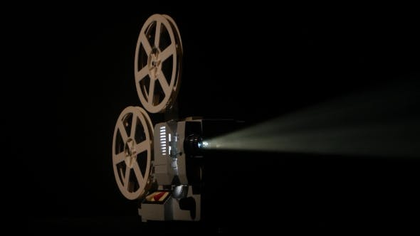 Thumbnail for Shows Movie in a Projector