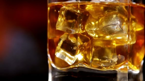 Thumbnail for Glasses of Malt Whiskey on a Black Table