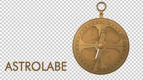 Altes Astrolabium