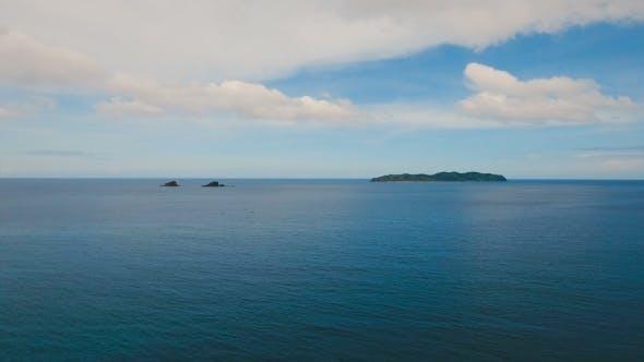 Thumbnail for Tropical Islands, Aerial View. El Nido