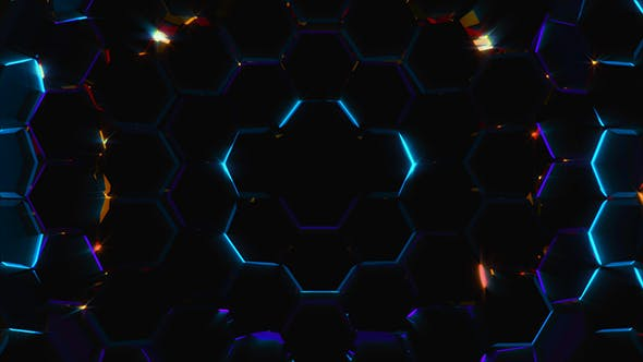 Thumbnail for Electric Hexagons Field
