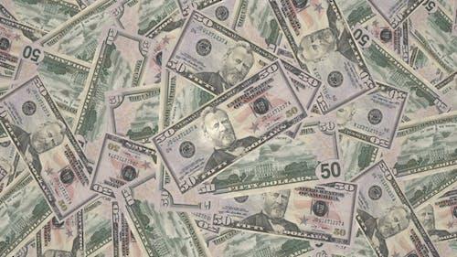 Fifty Dollars Bills, Money