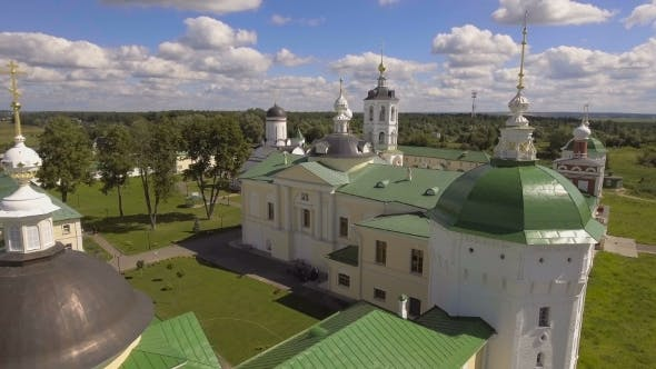 Thumbnail for Orthodox Christian monastery.Aerial View