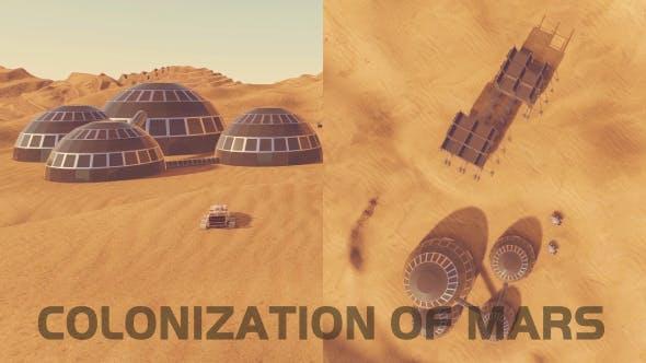 Thumbnail for Colonization of Mars - 2 Scene