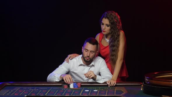 Thumbnail for Girl Stops the Man From the Wrong Rate. Roulette Casino