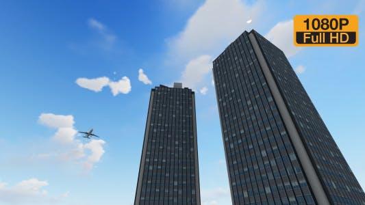 Thumbnail for Timelapse Flying on Buildings