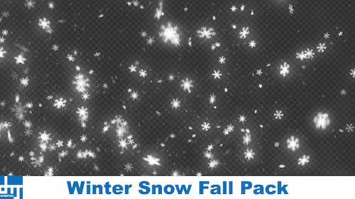 Winter Snow Fall Pack